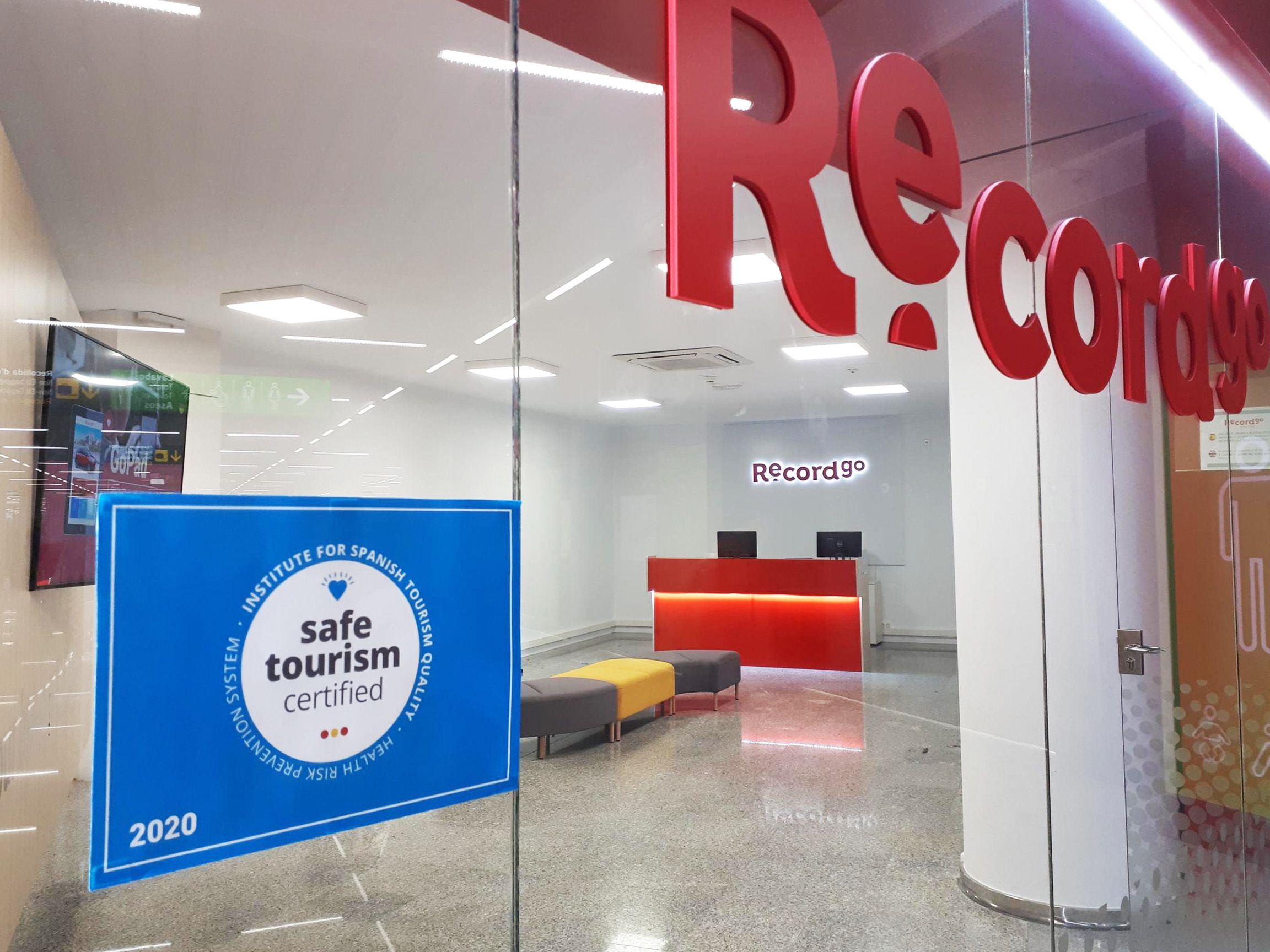 record go gets the safe tourism certified seal from icte for all its branches in spain