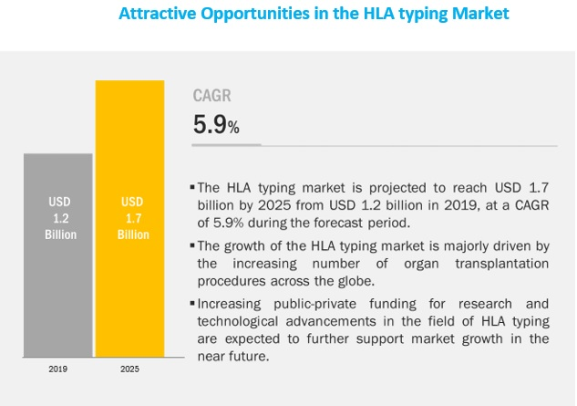 hla typing for transplant market worth 968 million by 2025