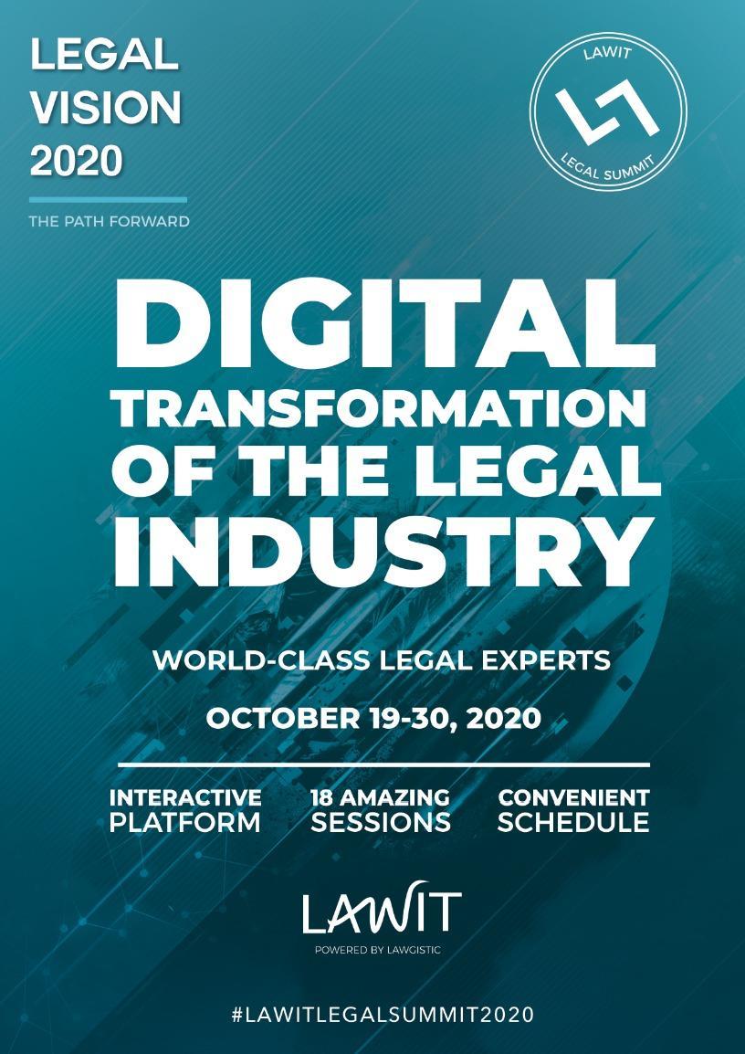 lawyers gaining a competitive advantage through digital transformation legal vision 2020 lawit legal summit